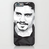 iPhone & iPod Case featuring Here's Johnny... by Cat Lines