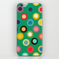 green pop spot iPhone & iPod Skin