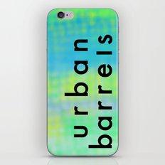 Urban Barrel Type iPhone & iPod Skin