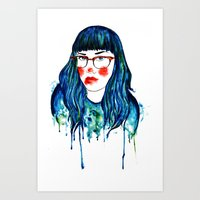 dripping in gold Art Print