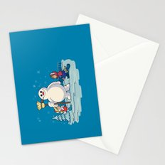 Let's Build a Snowman! Stationery Cards