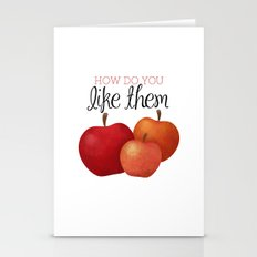 How Do You Like Them App… Stationery Cards