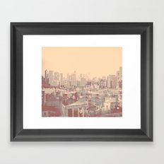 falling behind Framed Art Print
