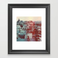Paris Revisited Framed Art Print