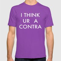 Ur A Contra Mens Fitted Tee Ultraviolet SMALL