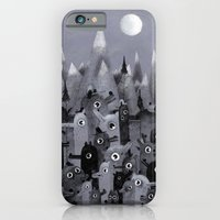 iPhone & iPod Case featuring Nightbears by Mitch Loidolt