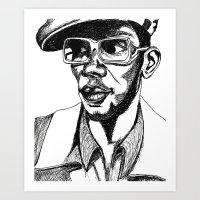 Mighty Mos Def Art Print