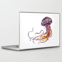 jellyfish Laptop & iPad Skins featuring Jellyfish by Sam Nagel