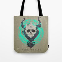 A KING IN DEATH Tote Bag