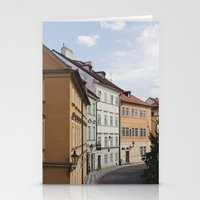 Prague In Pastels Stationery Cards