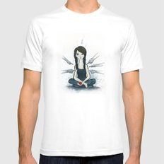 Boundaries White SMALL Mens Fitted Tee