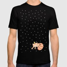 Mitte. Mens Fitted Tee Black SMALL