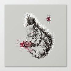 Zombie Squirrel Canvas Print