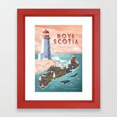 NOVA SCOTIA Framed Art Print