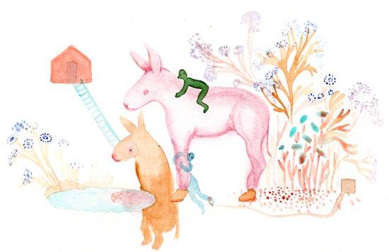April Dream Art Print