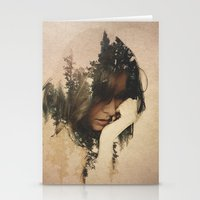 lost Stationery Cards featuring Lost In Thought by Davies Babies