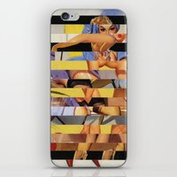 Glitch Pin-Up Redux: Cou… iPhone & iPod Skin