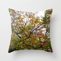 Autumn Patterns #3 Throw Pillow