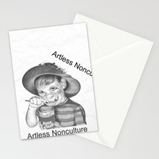 Artless Nonculture (Lowbrow) Stationery Cards