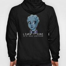 Liara Is My Space Girlfriend Hoody