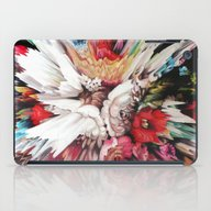 Floral Glitch II iPad Case