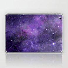 Purple Watercolor Space Pattern Laptop & iPad Skin