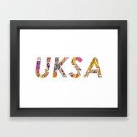 UKSA #3 Framed Art Print