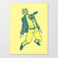 Levitates Canvas Print