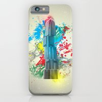 iPhone & iPod Case featuring IFC Hong Kong Abstract by Mark A. Hyland (MAHPhoto)