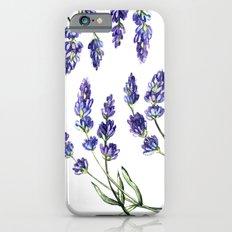 Lavender flowers iPhone 6s Slim Case
