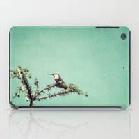 Hummingbird At Rest iPad Case