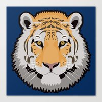 The Wild Ones: Siberian Tiger Canvas Print