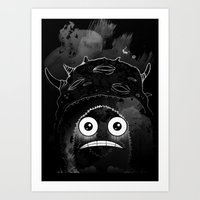 Alone In The Dark Art Print
