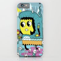 iPhone & iPod Case featuring The Birds and the Bunnies  by Frenemy