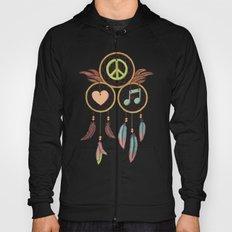 Peace, Love and Music Hoody