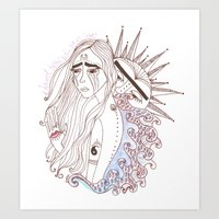 I Haven't Talked To The … Art Print