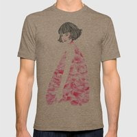 Poppy Girl Mens Fitted Tee Tri-Coffee SMALL