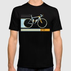 Bike SMALL Mens Fitted Tee Black
