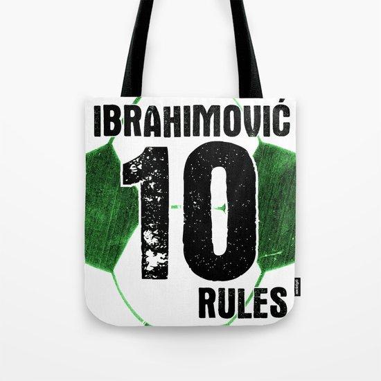 Ibrahimovic 10 Rules Tote Bag