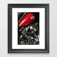 Harley Art Framed Art Print