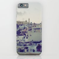 iPhone & iPod Case featuring Fira at Dusk IV by istillshootfilm