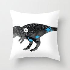 Extinction, pt. 2 Throw Pillow