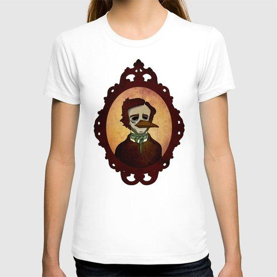Prophets of Fiction - Edgar Allan Poe /The Raven T-shirt