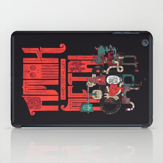 Amok And Totally Metal iPad Case