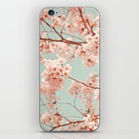 blossoms all over iPhone & iPod Skin
