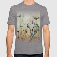 Splash Of Nature Mens Fitted Tee Tri-Grey SMALL