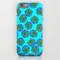 iPhone & iPod Case featuring GermFlower Wallpaper (Chills) by Rat McDirtmouth