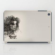 involuntary dilation of the iris iPad Case