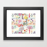 Garden Party - Print Framed Art Print