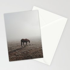 Fogged Horse Stationery Cards